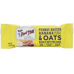 Bob's Red Mill, Bob's Better Bar, Peanut Butter Banana & Oats, 1.76 oz (50 g)