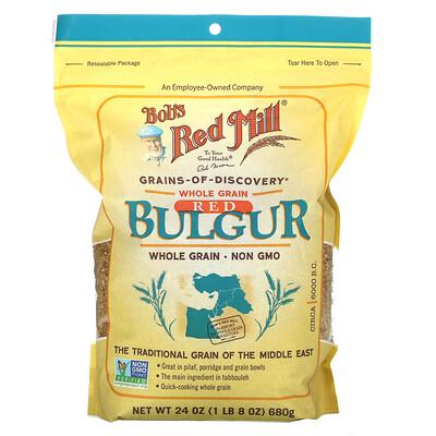 Купить Bob's Red Mill Red Bulgur, Whole Grain, 24 oz (680 g)