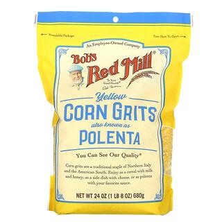 Bob's Red Mill, Yellow Corn Grits, 24 oz (680 g)