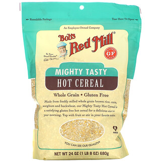 Bob's Red Mill, Mighty Tasty Hot Cereal, Whole Grain, 24 oz (680 g)