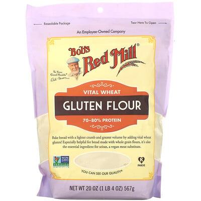 Купить Bob's Red Mill Vital Wheat Gluten Flour, 20 oz (567 g)