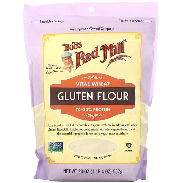 Vital Wheat Gluten Flour, 20 oz (567 g)