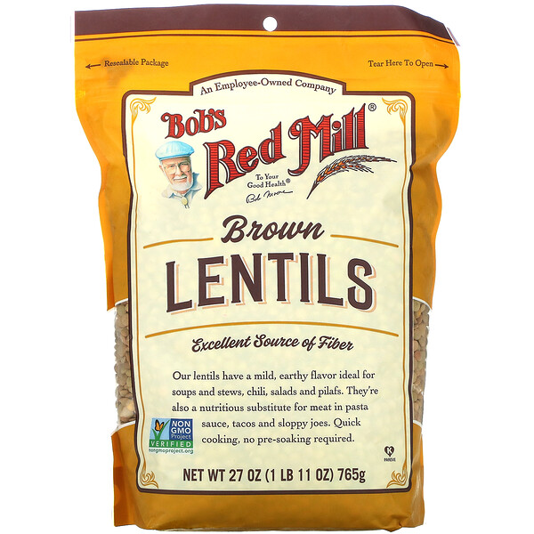 Brown Lentils, 27 oz (765 g)
