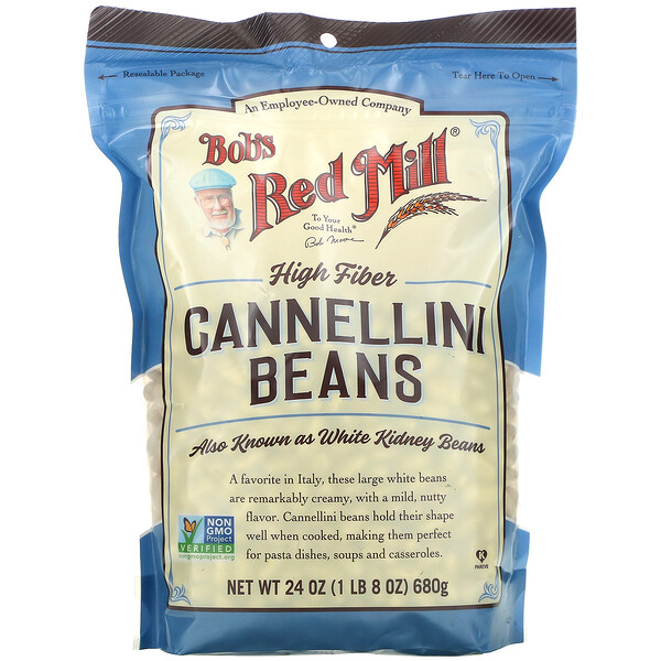 Bob's Red Mill, Cannellini Beans, 24 oz (680 g)
