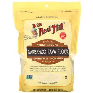 Bob's Red Mill, Garbanzo Fava Flour, Stone Ground, 22 oz (624 g)