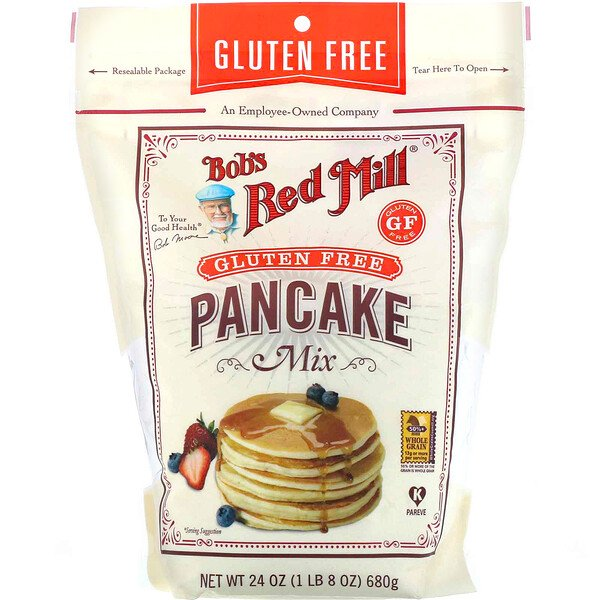 Bob's Red Mill, Pancake Mix, Gluten Free, 24 oz (680 g)