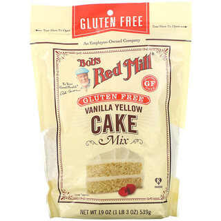 Bob's Red Mill, Vanilla Yellow Cake Mix, 19 oz (539 g)