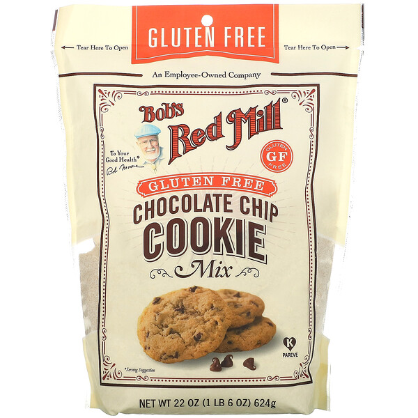 Chocolate Chip Cookie Mix, Gluten Free, 22 oz (624 g)