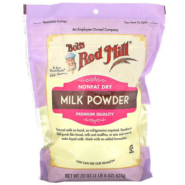 Milk Powder, Nonfat Dry, 22 oz (624 g)