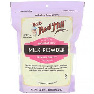 Бобс Рэд Милл, Milk Powder, Nonfat Dry, 22 oz (624 g) отзывы