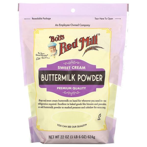 Buttermilk Powder, Sweet Cream, 22 oz (624 g)