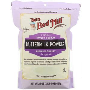 Бобс Рэд Милл, Buttermilk Powder, Sweet Cream, 22 oz (624 g) отзывы