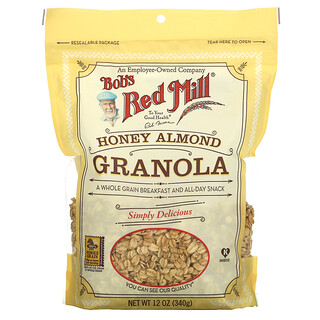 Bob's Red Mill, Honey Almond Granola, 12 oz ( 340 g)