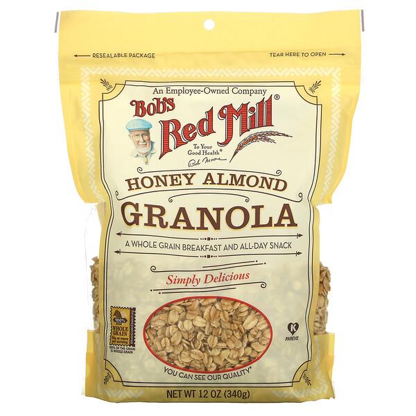 Honey Almond Granola, 12 oz ( 340 g)