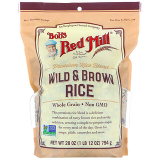 Bob's Red Mill, дикий и коричневый рис, 794г (28унций)