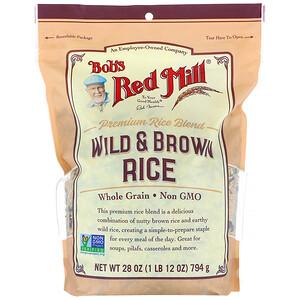 Бобс Рэд Милл, Wild & Brown Rice, 28 oz (794 g) отзывы покупателей