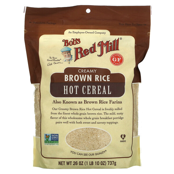 Creamy Brown Rice Hot Cereal, 26 oz ( 737 g)