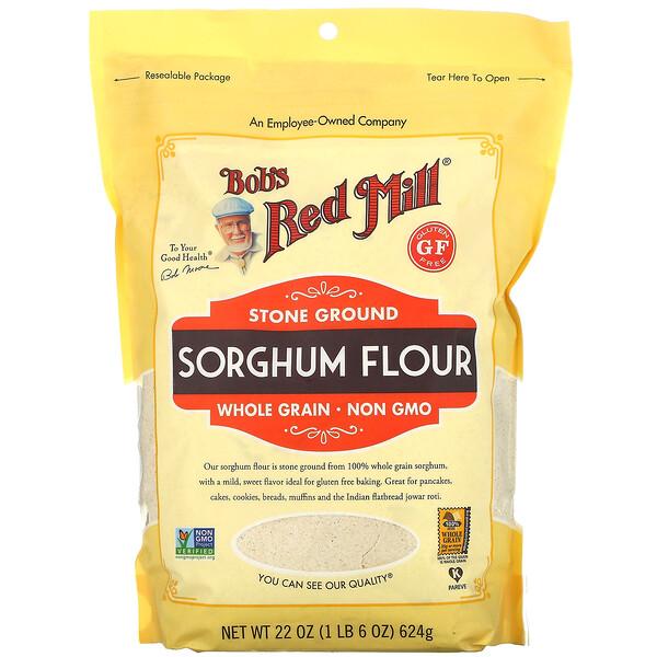 Stone Ground Sorghum Flour, 22 oz ( 624 g)