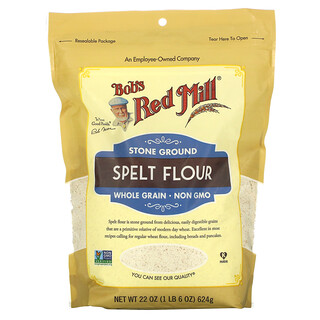 Bob's Red Mill, Spelt Flour, Whole Grain, 22 oz (624 g)