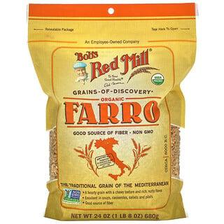 Bob's Red Mill, Organic Farro, 24 oz (680 g)