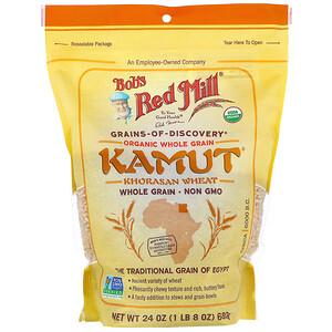 Бобс Рэд Милл, Organic Kamut, Whole Grain, 24 oz (680 g) отзывы покупателей