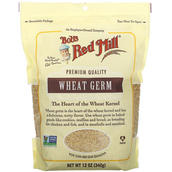 Wheat Germ,  12 oz (340 g)