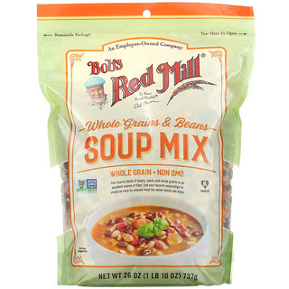 Bob's Red Mill, Whole Grains & Beans Soup Mix,  26 oz ( 737 g)