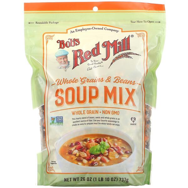 Whole Grains & Beans Soup Mix,  26 oz ( 737 g)