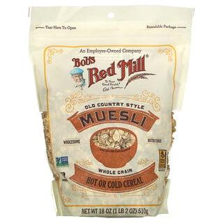 Bob's Red Mill, Muesli, Old County Style, Whole Grain, 18 oz (510 g)