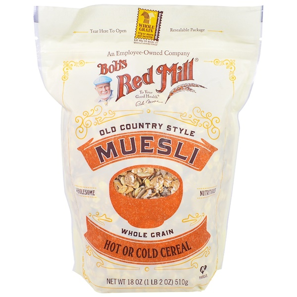 Bob's Red Mill, ボブズレッドミル, Old Country Style Muesli, 18 oz (510 g)