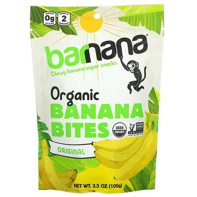 Barnana Organic Banana Bites, Original, 3.5 oz (100 g)