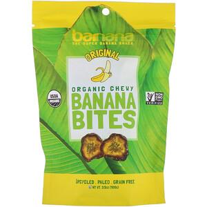 Barnana, Organic Chewy Banana Bites, Original, 3.5 oz (100 g) отзывы