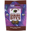 Barnana, Organic Chewy Banana Bites, Dark Chocolate, 3.5 oz (100 g)