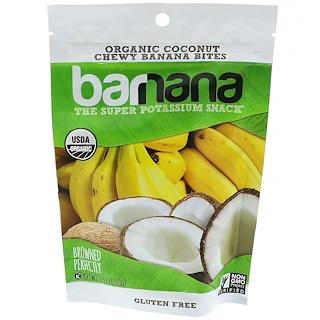 Barnana, Chewy Banana Bites, Organic Coconut, 3.5 oz (100 g)