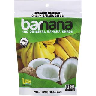 Barnana, Organic Coconut Chewy Banana Bites, 3.5 oz (100 g)