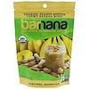 Barnana, チュウイバナナバイツ、オーガニックピーナッツバター、3.5オンス(100 g)