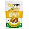 Barnana, オーガニッククランチーバナナブリトゥル、ショウガ入りクッキー、3.5オンス (100 g)