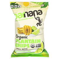 Barnana, Organic Plantain Chips, Acapulco Lime, 5 oz (140 g)