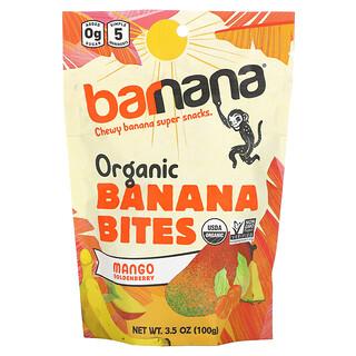 Barnana, Organic Banana Bites, Mango Goldenberry, 3.5 oz (100 g)