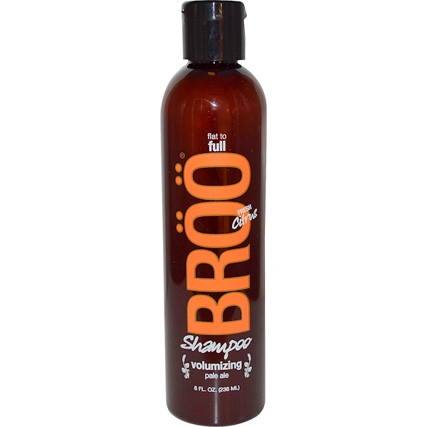 BRöö, Shampoo, Flat to Full, Volumizing Pale Ale, Fresh Citrus, 8 fl oz (236 ml) (Discontinued Item)