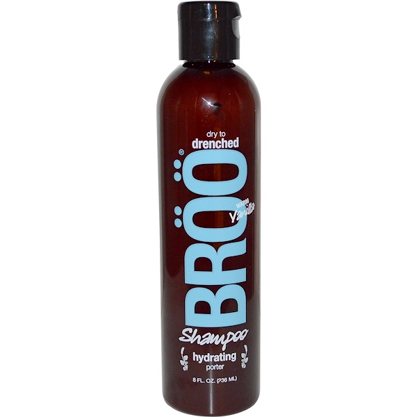 BRöö, Shampoo, Dry to Drenched, Hydrating Porter, Warm Vanilla, 8 fl oz (236 ml) (Discontinued Item)