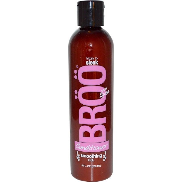 BRöö, Conditioner, Frizzy to Sleek, Smoothing I.P.A., Silky Spice, 8 fl oz (236 ml) (Discontinued Item)