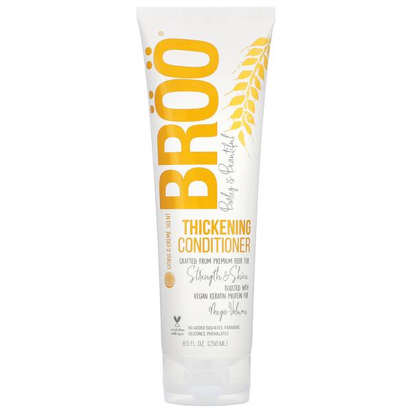 Thickening Conditioner, Citrus & Creme, 8.5 fl oz (250 ml)