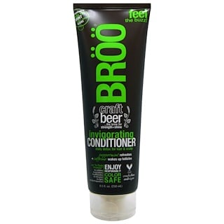 BRöö, Invigorating Conditioner, Malted Mint, 8.5 fl oz (250 ml)