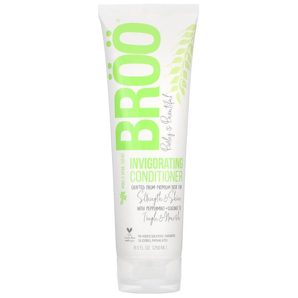 BRöö, Invigorating Conditioner, Mint & Herb Scent, 8.5 fl oz (250 ml) (Discontinued Item)