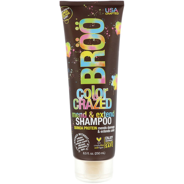 Color Crazed Shampoo, Quinoa Colada, 8.5 fl oz (250 ml)