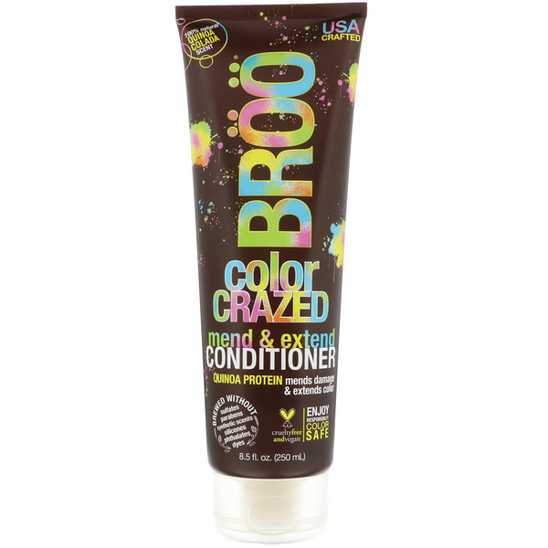 Color Crazed Conditioner, Quinoa Colada, 8.5 fl oz (250 ml)