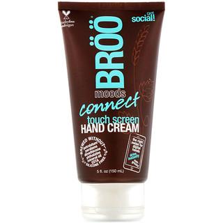 BRöö, Moods, Connect Touch Screen Hand Cream, Jasmine and Lime, 5 fl oz (150 ml)