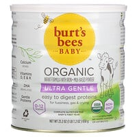 Burt's Bees, Baby, Organic Infant Formula With Iron, Ultra Gentle, 0-12 Months, 23.2 oz (658 g)