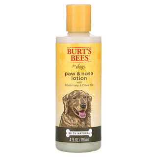 Burt's Bees, Paw & Nose Lotion for Dogs with Rosemary & Olive Oil, 4 fl oz (120 ml)